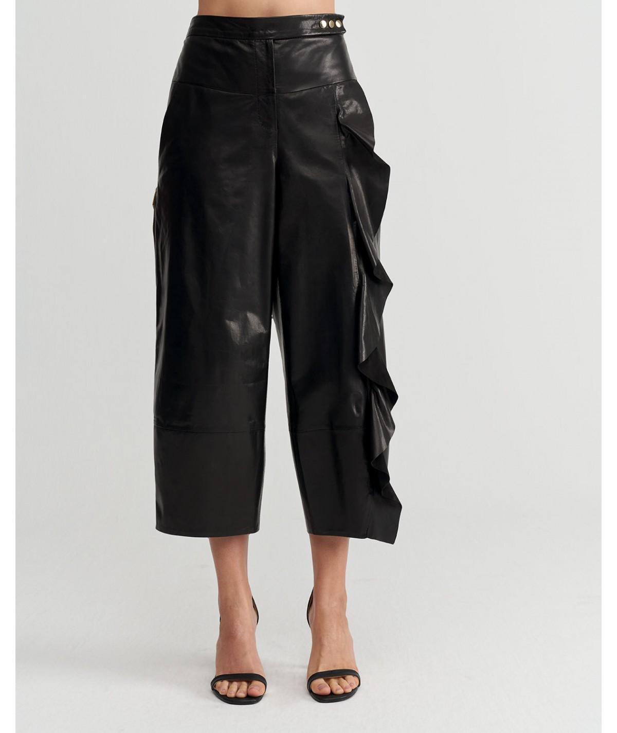 Ozodi Deri Pantolon